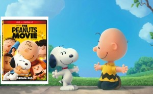 Peanuts Movie DVD