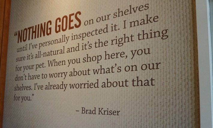 Brad Kriser promise to pet parents
