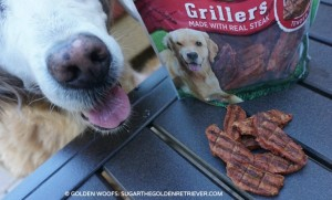 Nudges Grillers wholesome dog treats