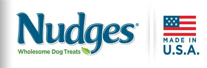 Nudges Dog Treats logo