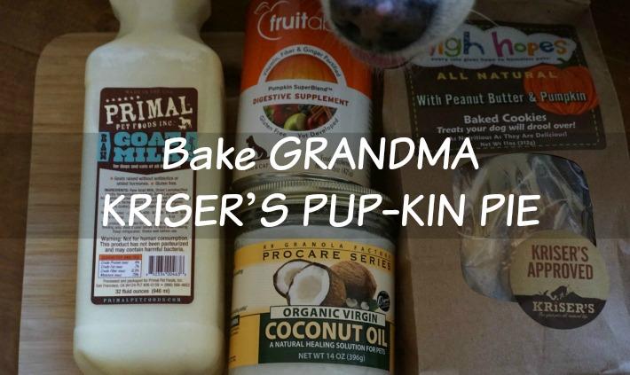 Bake GRANDMA KRISER'S PUP-KIN PIE
