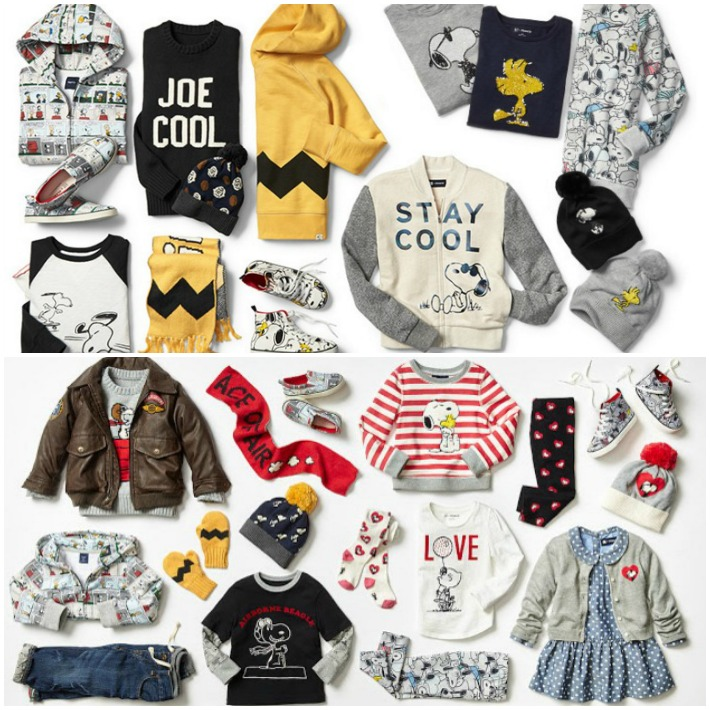 Gap Kids Baby Peanuts Collections
