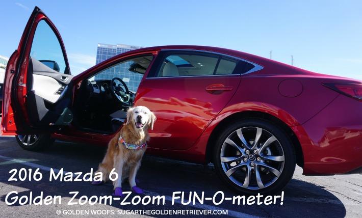 Soul Red Mazda FUN o meter