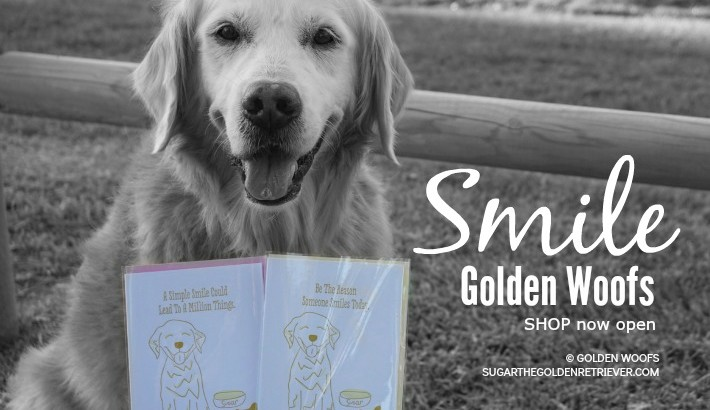 SMILE Golden Woofs Shop Now Open