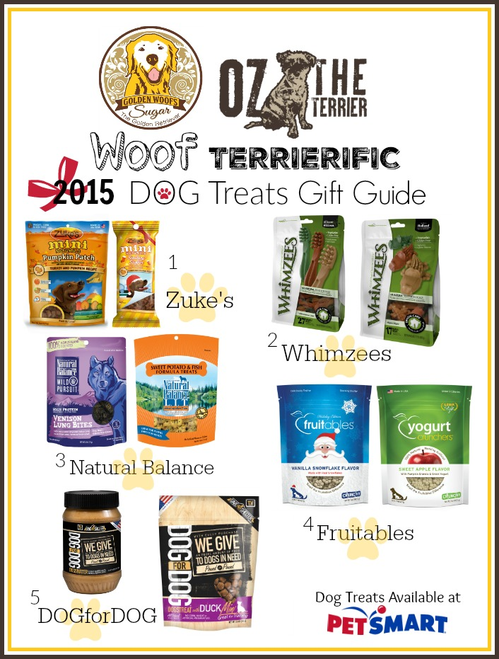 2015 Dog Treats Gift Guide