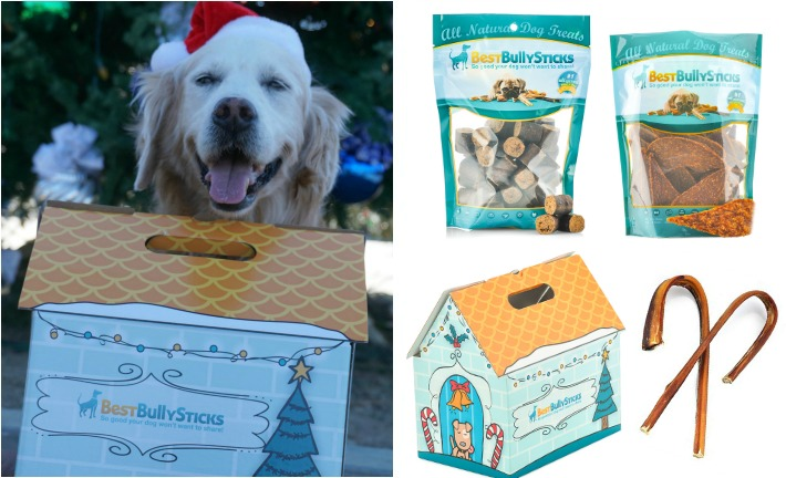 Your Dog Deserves A Best Bully Sticks Holiday Gift Box