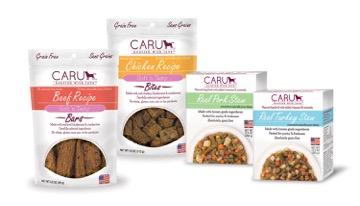 Caru Pet Food Stew & Treats