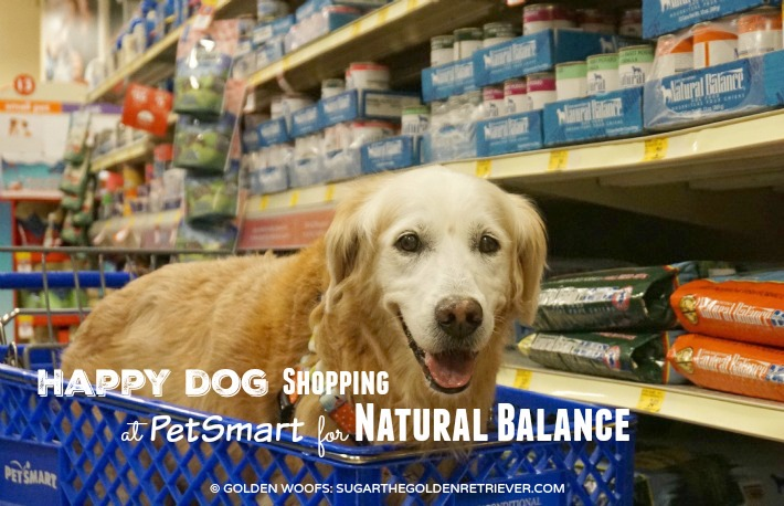Happy Dog Shopping at PetSmart For #NaturalBalance