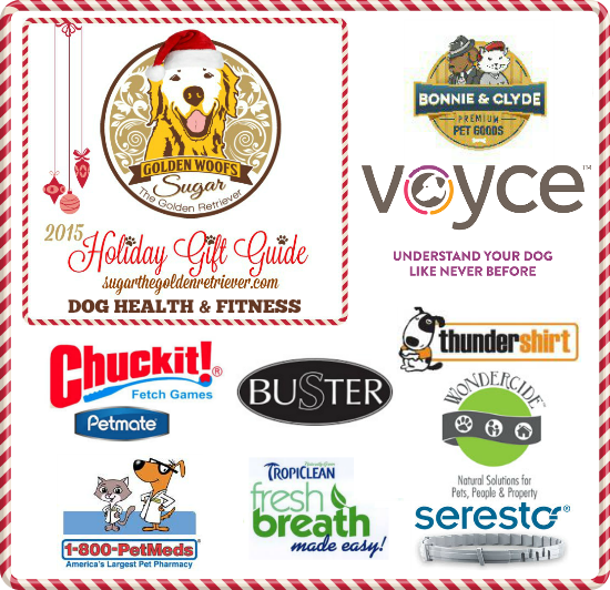2015 holiday gift guide dog health fitness golden woofs for Bonnie and clyde fish oil