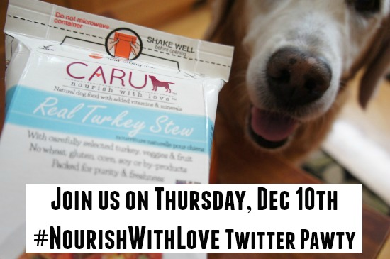 Caru Nourish With Love Twitter Pawty