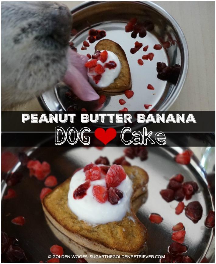 Dog Cake - Peanut Butter Banana