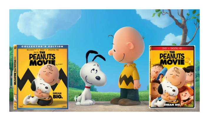#PeanutsMovie Collector's Edition Blu-ray & DVD on March 8th