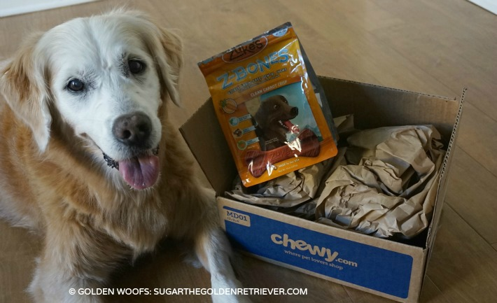 Chewy.com delivers Zukes Z-bone dental chews