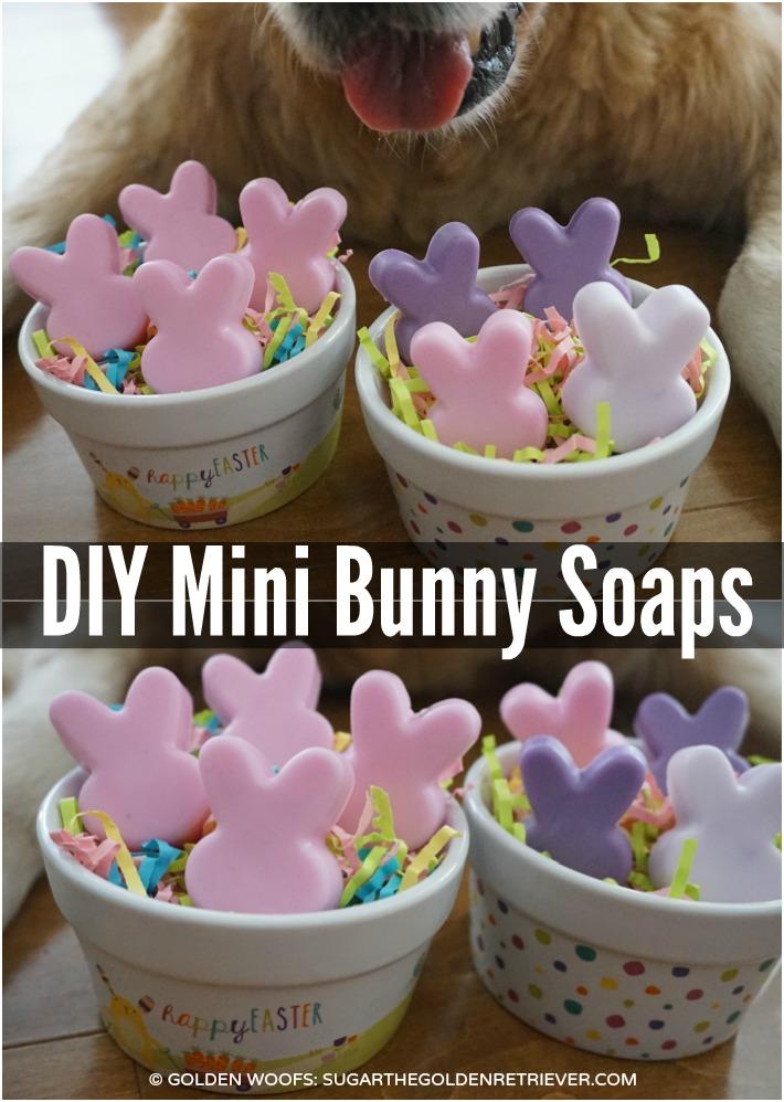 DIY Mini Bunny Soaps