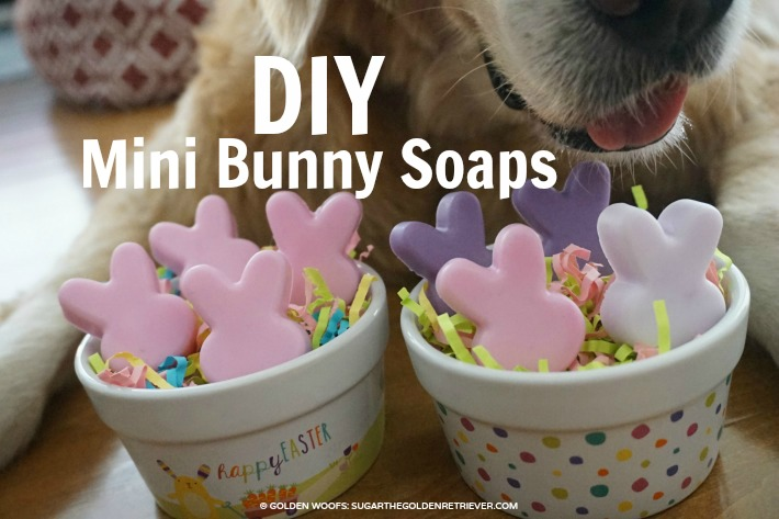 DIY Mini Bunny Soaps