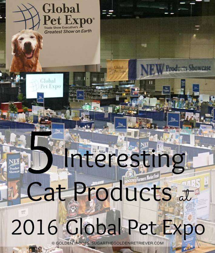 Interesting Cat Products Global Pet Expo