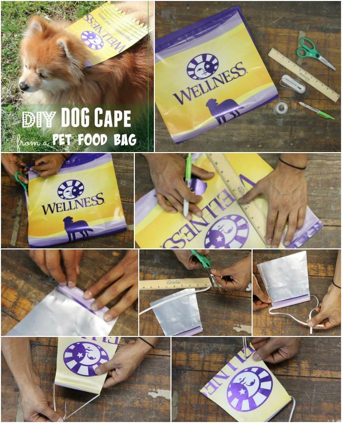 Instructions DIY Dog Cape