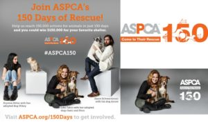 Join ASPCA 150 Days of Rescue