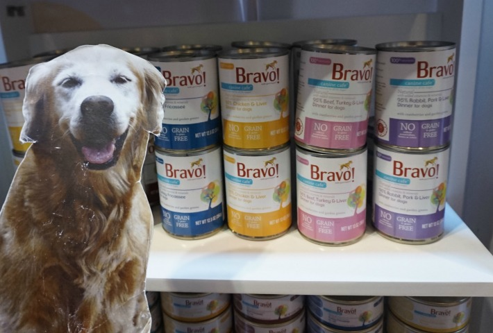 bravo new canned pet food
