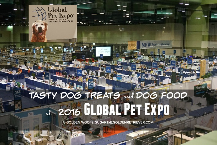 Tasty Dog Treats and Dog Food at 2016 Global Pet Expo