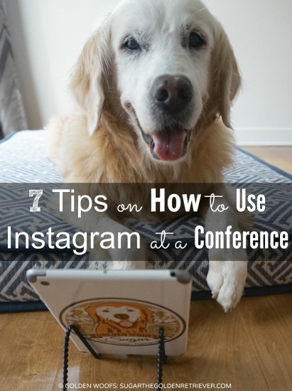 Conference Instagram Tips