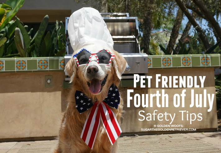 4 Pet Friendly Fourth of July Safety Tips #BeSleepypodSafe