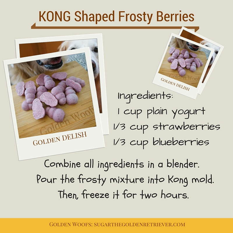 KONG shaped Frosty Berries