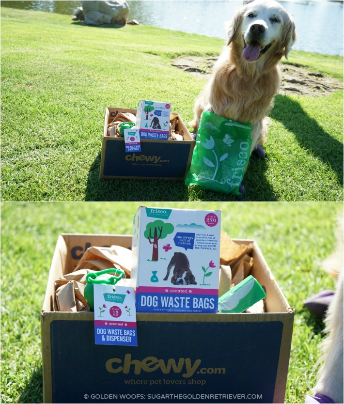 CHEWY.COM FRISCO dog waste bags