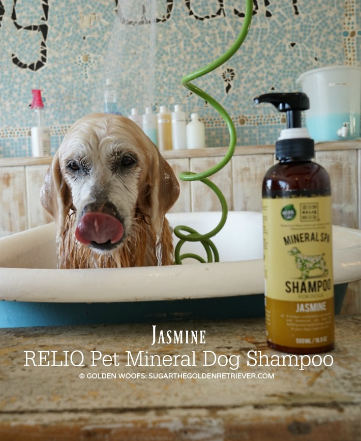 RELIQ Pet Mineral Spa Dog Shampoo