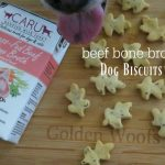 Bone Broth Dog Biscuits Made with CARU Beef Bone Broth