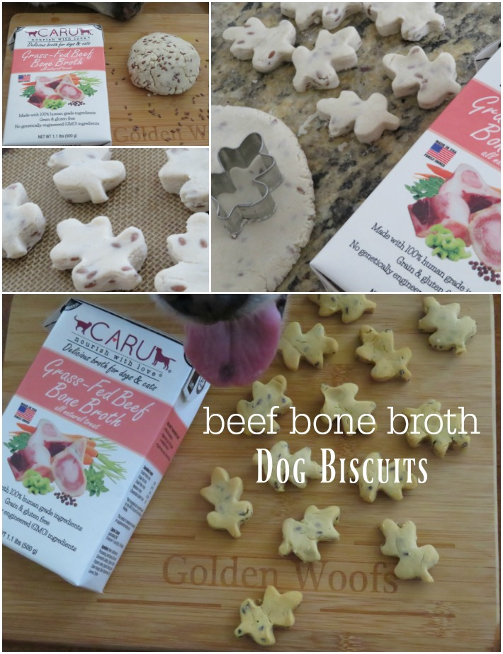 bone broth dog biscuits