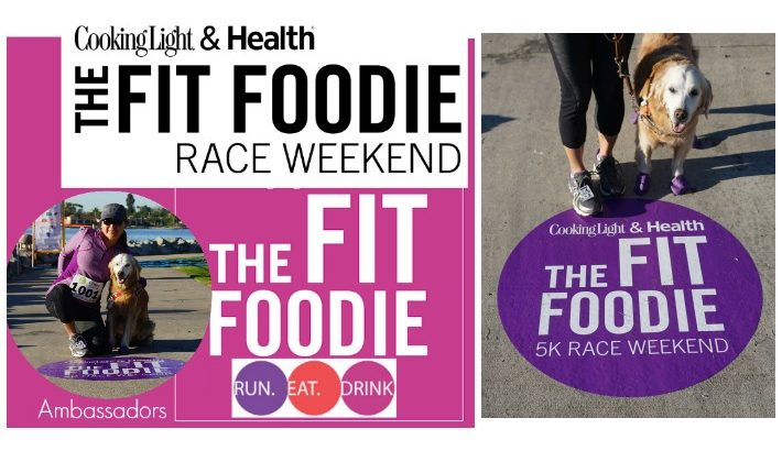 Cooking Light & Health San Diego Dog Friendly Fit Foodie Race #FitFoodieRun