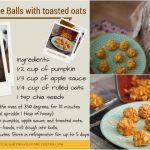 Pumpkin Apple Dog Treats | Official Release #CookingForSugar