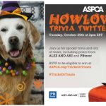 Join ASPCA #TricksOrTreats HOWLoween Twitter Trivia Party