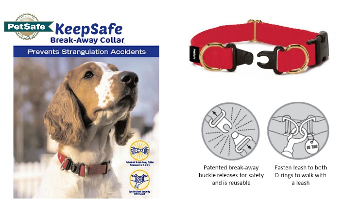 Choose A Safe Dog Collar | PetSafe Break-Away Collar #KeepSafeCollar