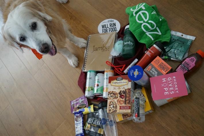 fit foodie run sponsor goods