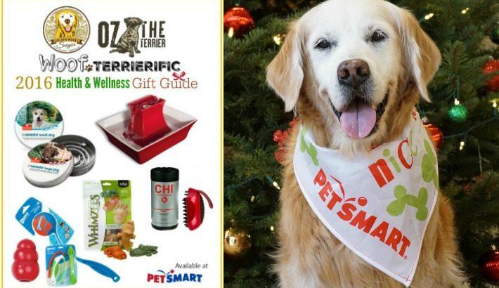 Woof Terrierific 2016 Health & Wellness Gift Guide PetSmart