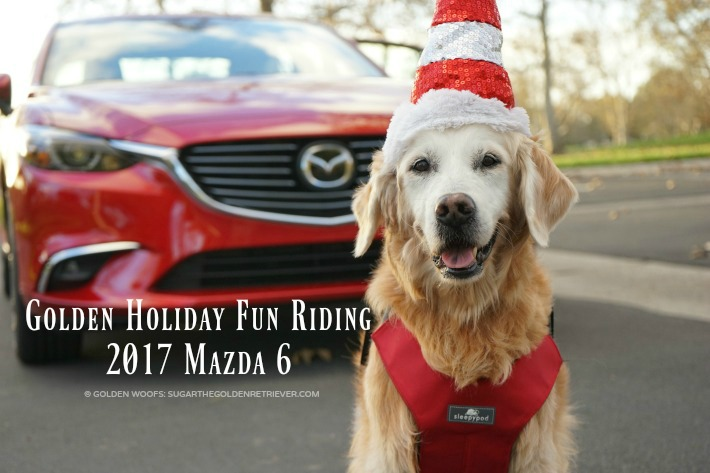 Golden Holiday Fun Riding 2017 Mazda 6 #DriveMazda