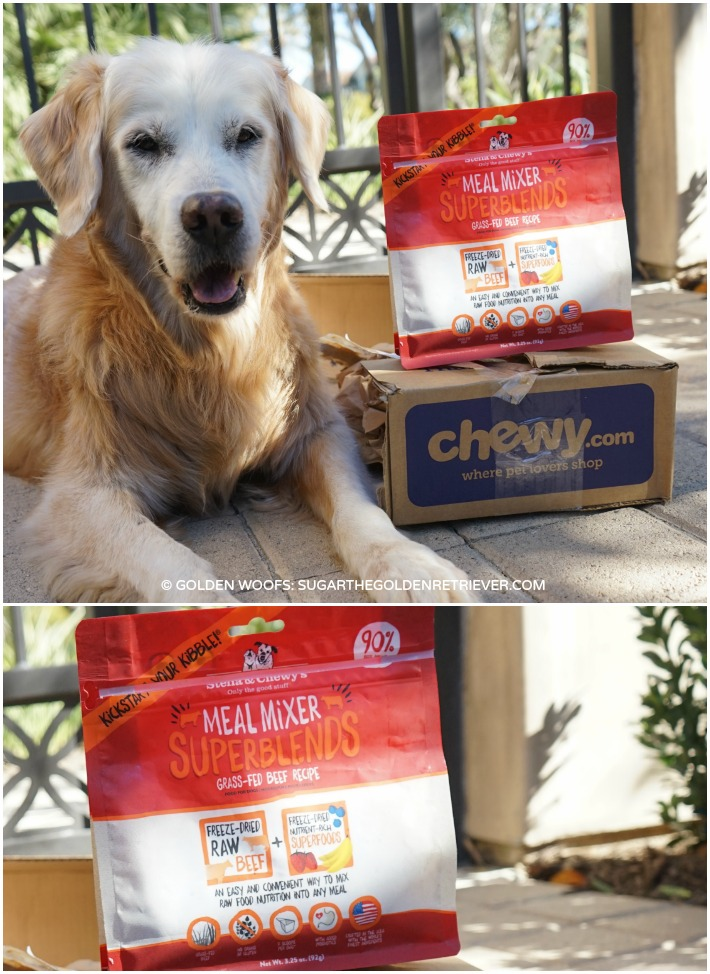 From Chewy.com Stella and Chewy's Meal Mixer SuperBlend