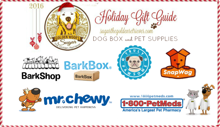 2016 Holiday Gift Guide Dog Box and Pet Supplies