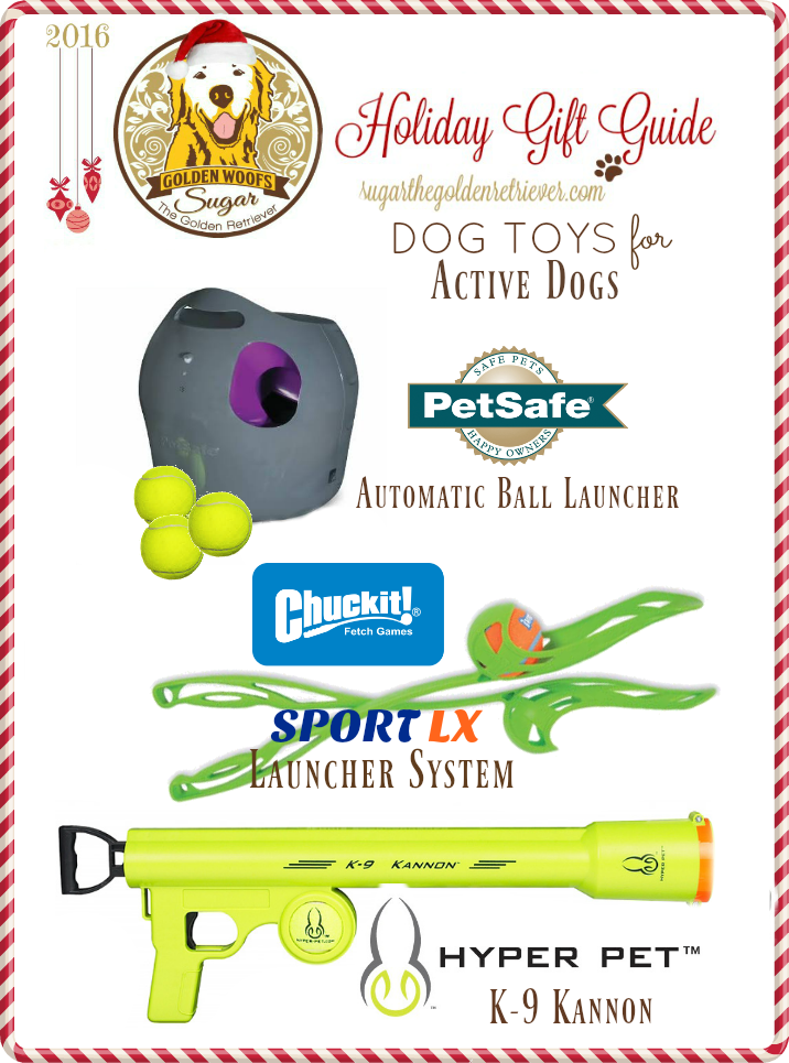 active dog holiday gift guide dog toys