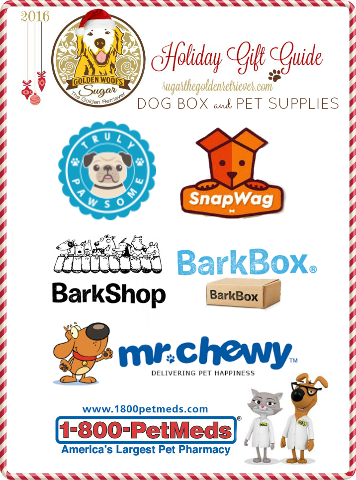 gift guide dog box pet supplies