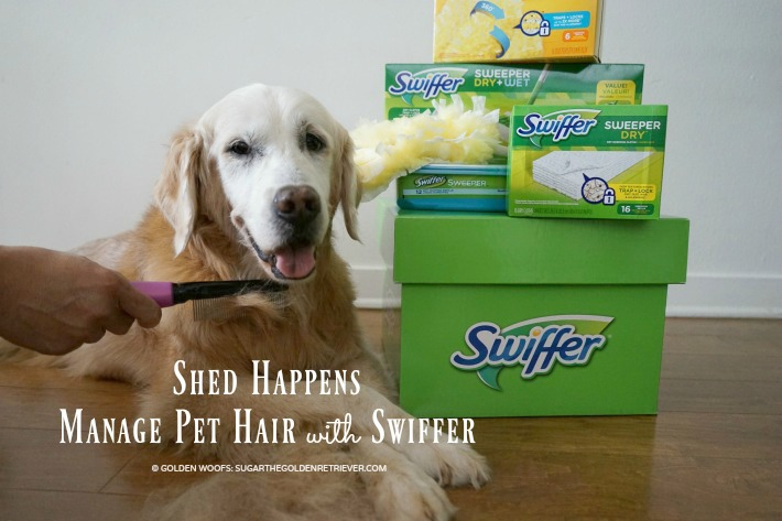 shed happens pet hair with swiffer