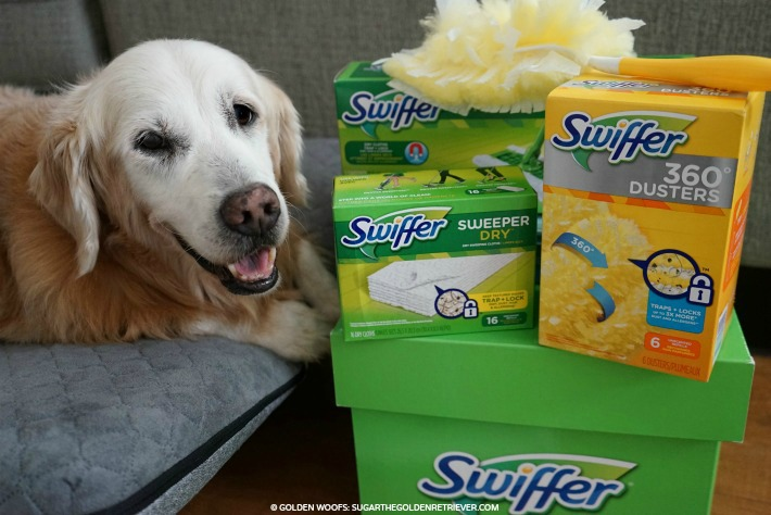 Swiffer big green box
