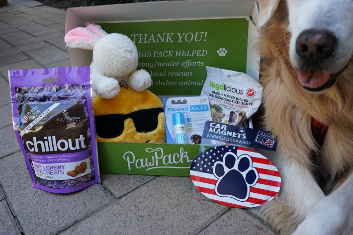 PawPack Helps Rescue Animals
