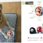 Smart Playful Pet Monitor Pebby on Kickstarter