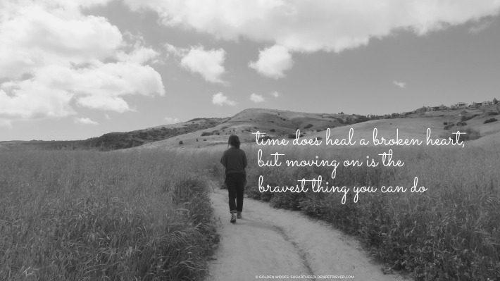 Broken Heart … Moving On