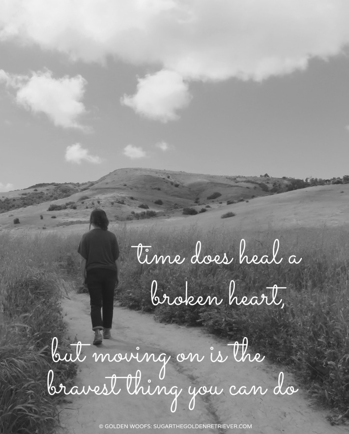 quote: broken heart ... moving on