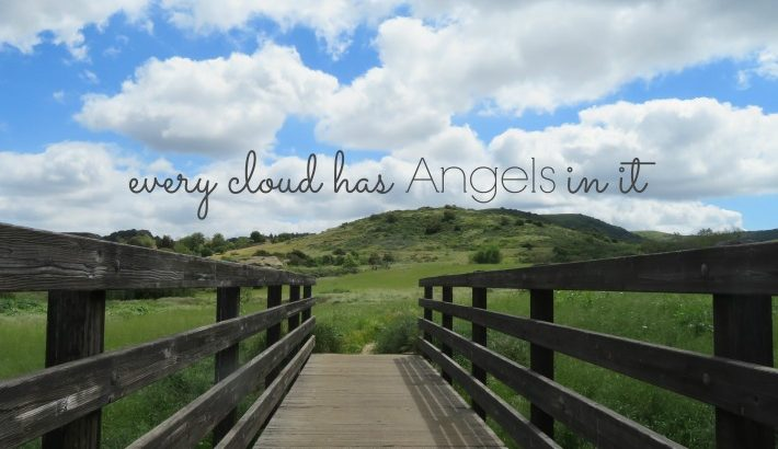 Every Cloud has Angels in it …