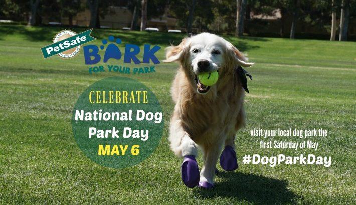PetSafe Bark for Your Park Kicks Off with National Dog Park Day